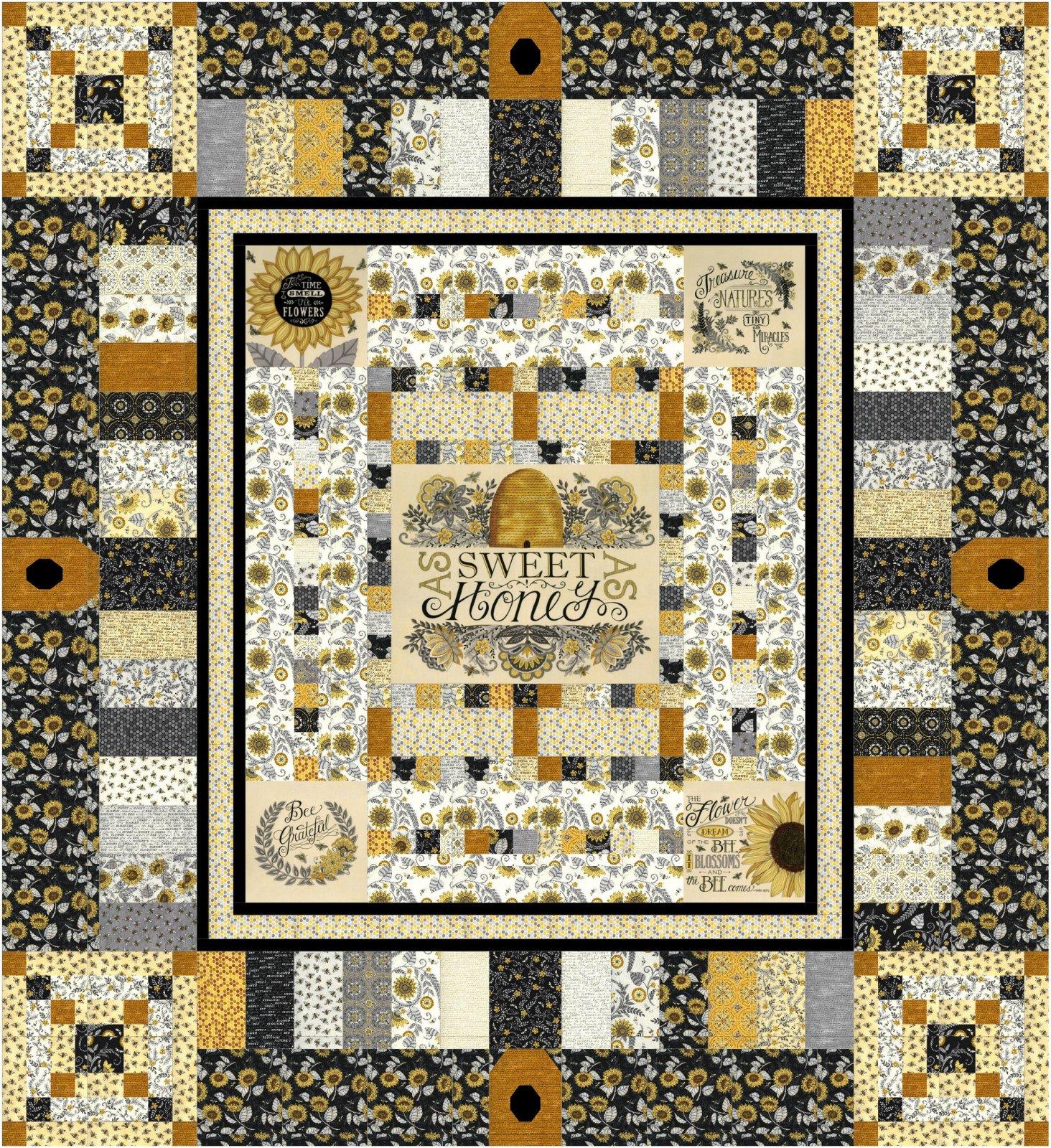 Sweet As Honey Quilt Pattern