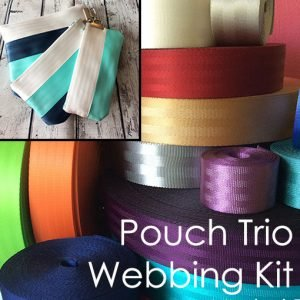 Seatbelt Pouch Trio Kit