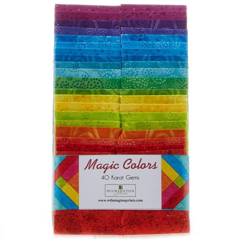 Wilmington Prints - Magic Colors - strip set