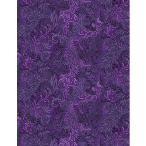 Wilmington Prints - Purple Embellishment - Q:1013