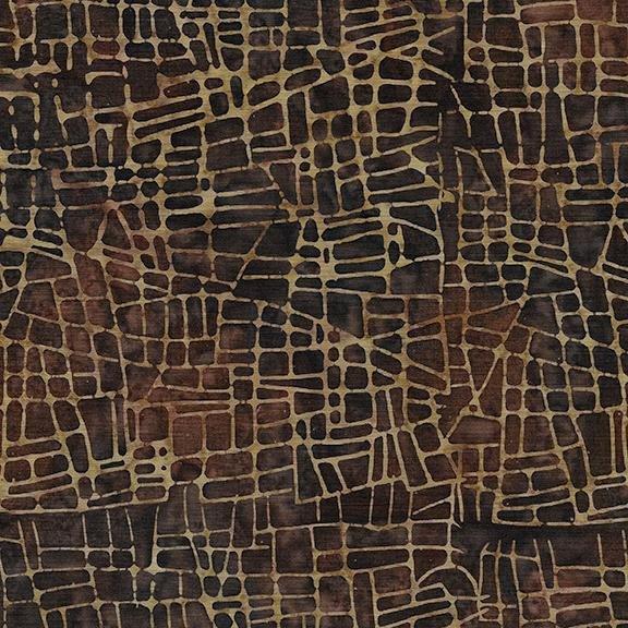 Mosaic Lines - Brown