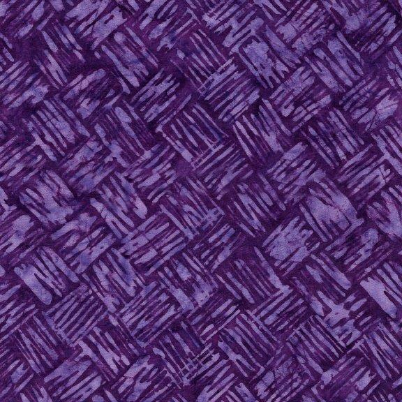 Brush Stroke Weave - Grape
