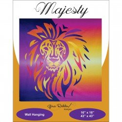 Majesty Quilt Wallhanging Pattern and Kit