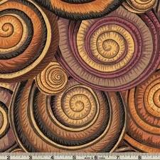 Spiral Shells - Brown
