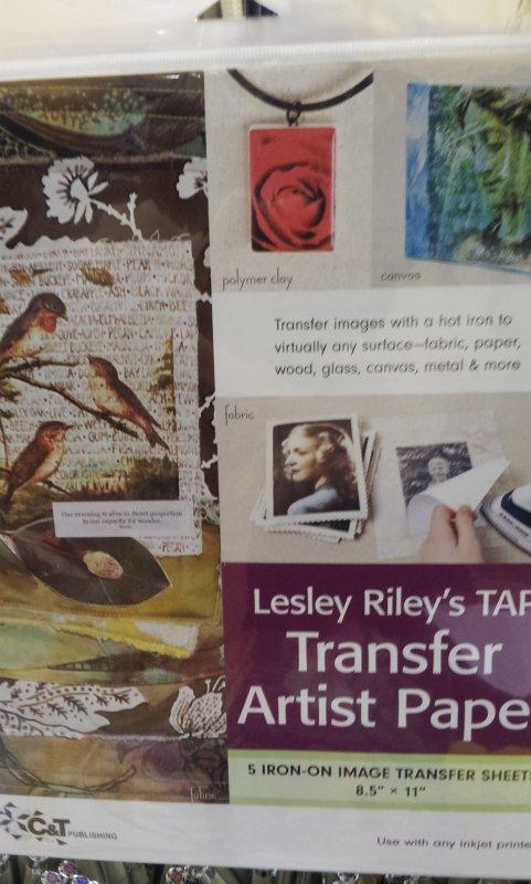 Transfer Artist Paper - 5 pack, 8 1/2 x 11