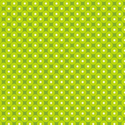 HG-Q-1558-66 Green Celebrate Summer Tonal Dot