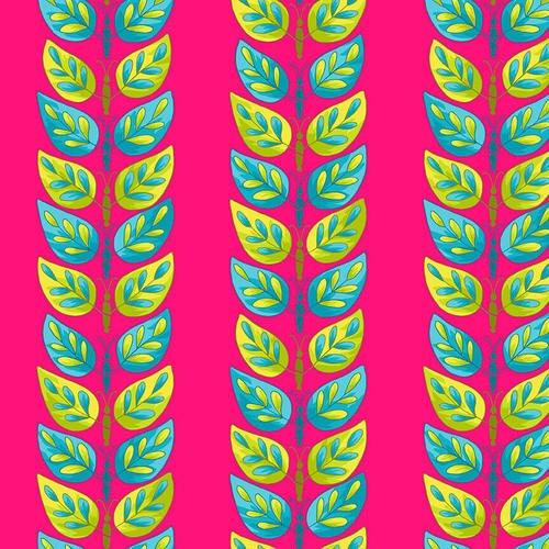 HG-Q2242-22 Fuchsia Petals Go Round