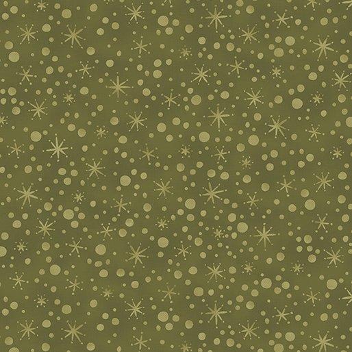 B-2272-43 Sage Winter Wonderland Snowball Texture