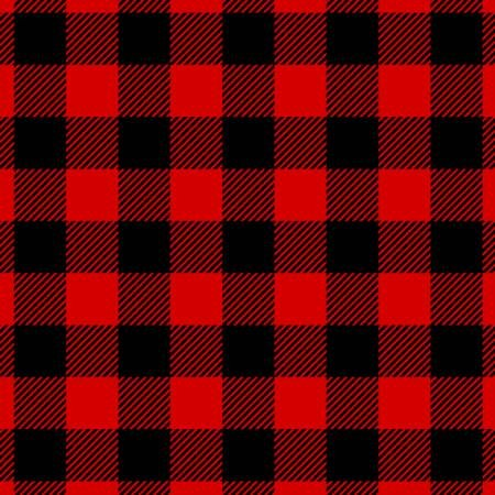 DT-2338138FCW2 Red/Black Buffalo Plaid FLANNEL
