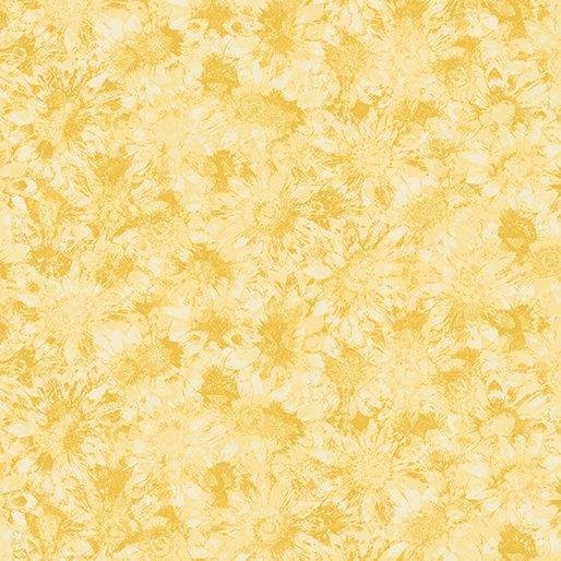 B-2774-03 Sunshine Garden Whispering Sunflower Lt Yellow