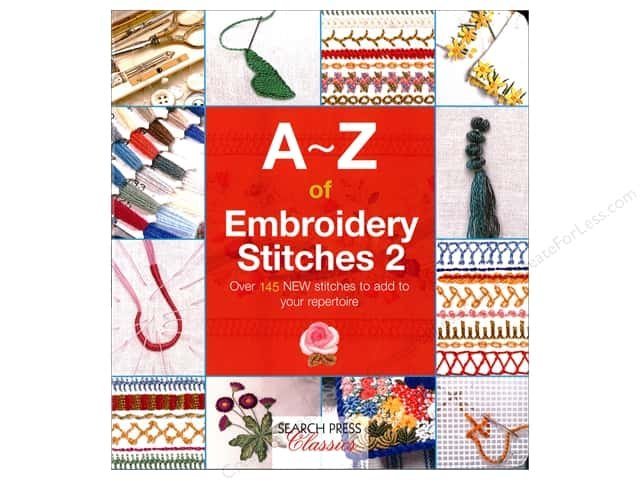 SP169-3-A-Z of Embroidery Stitches 2