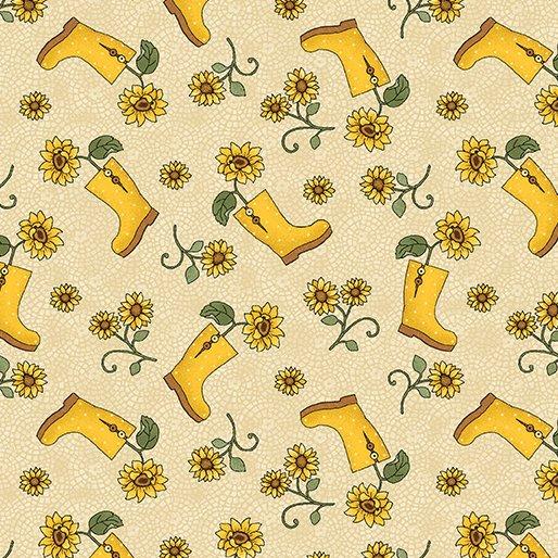 B-3492-07 Sunshine Garden Boots Natural