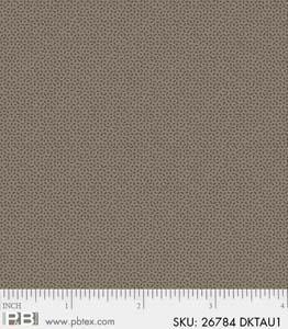 P&B-4742-26784-DKTAU Crystals Dark Taupe