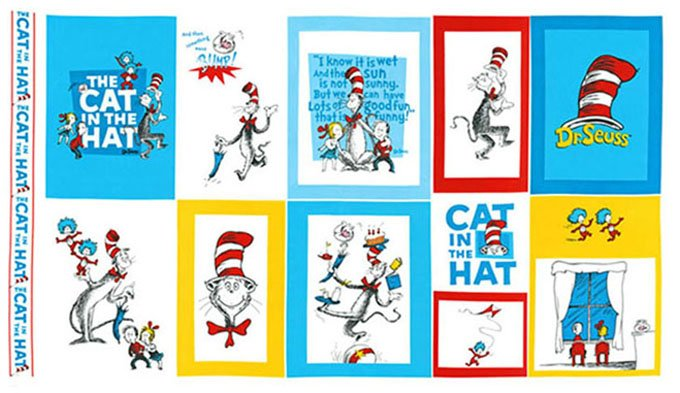 RK-ADE-10798-203 Cat in the Hat PANEL