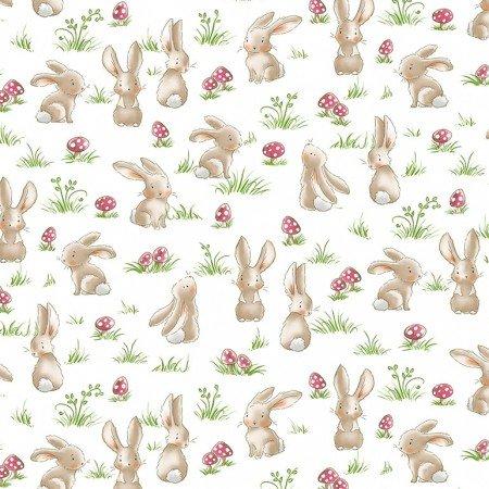 TT-Bunnies-C6716 Grass Curious Bunny