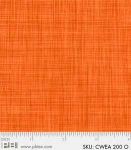 P&B-CWEA-200-O Color Weave Orange