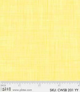 P&B-CWSB-00201-YY Color Weave Pale Yellow
