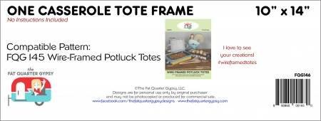 FQG-FQG146 Casserole Tote Frame