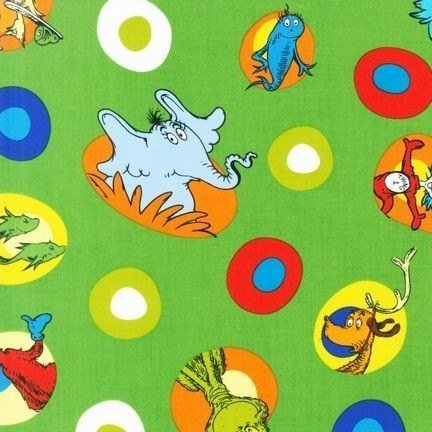 RK-ADE-10787-7 Green Celebrate Seuss