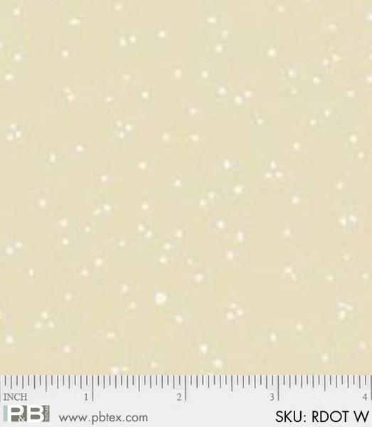 P&B-RDOT-W White on White Dots