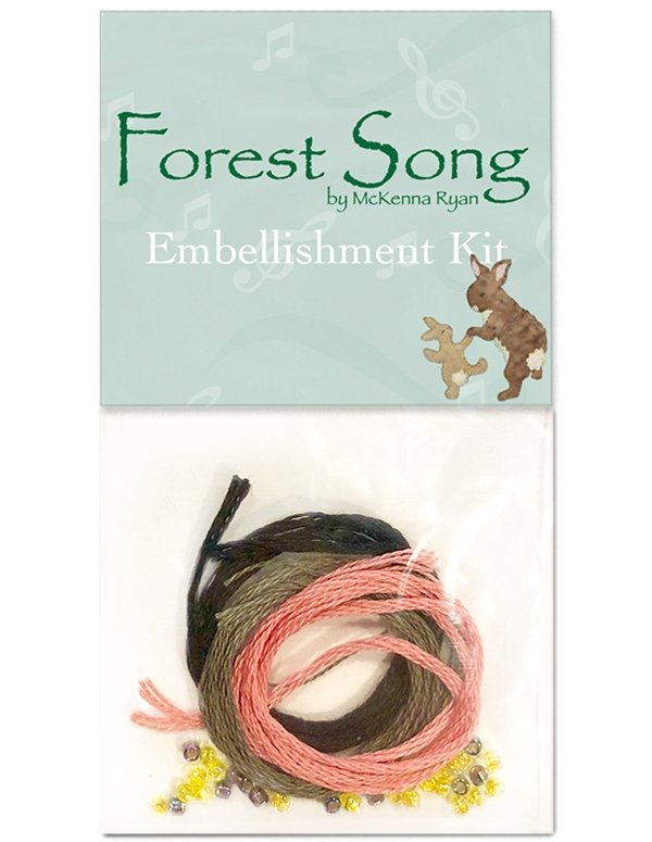 MRD-ROW2018-E Forest Song Embellishment Kit