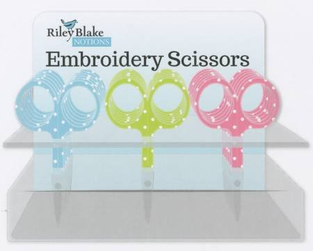 ST-6744-Polka Dot Embroidery Scissors