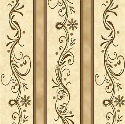 QT-24046-A-Amazing Grace Decorative Scroll Strip - Tan