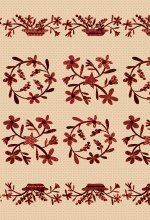 HG-Q8832P-44 Berries & Blossoms PANEL