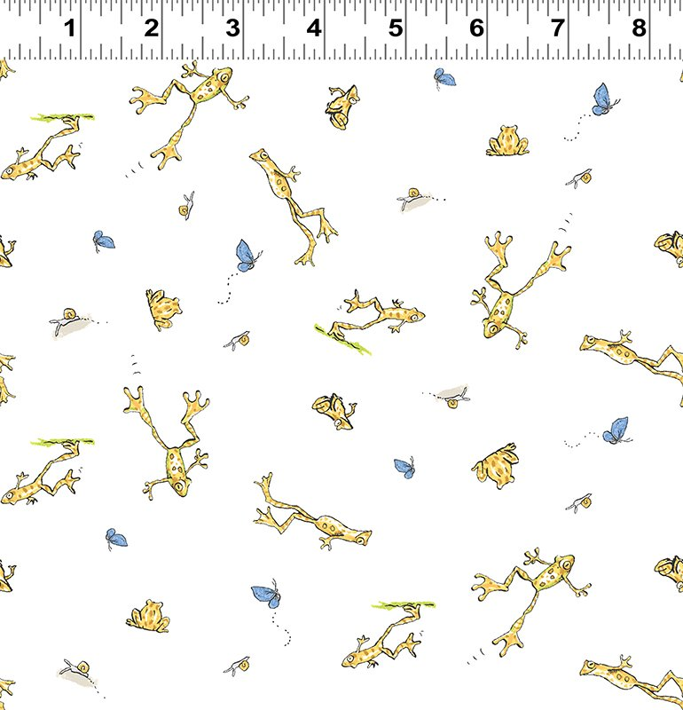 CW-Y2874-97 GHMILY When I'm Big Frogs Light Sky