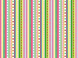 22796-X  Ribbon Stripe-Simply Sweet