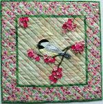 504 - Petal Play Chickadee by Joan Shay