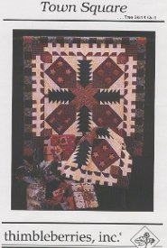 Town Square Tree Skirt & Quilt