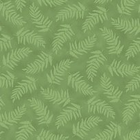 Nature's Glory LEAF GREEN-FERN TONAL
