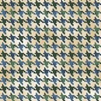 Nature's Glory BLUE-HOUNDSTOOTH