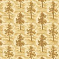 NATIVE PINE LT. GOLD-PINE TREE TONAL