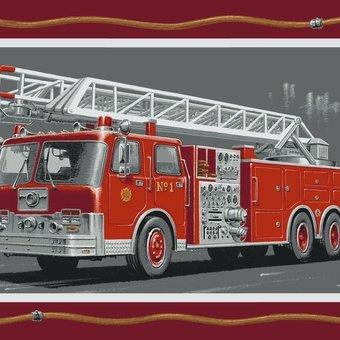 Fire Rescue II Fire Truck Pannel