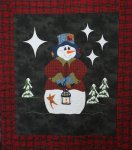 A Frosty Night - Applique