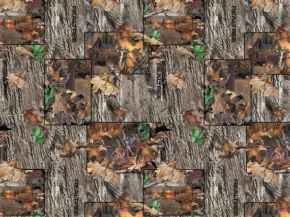 Realtree Lakeside Sunset Patchwork