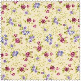 HARLOW CREAM/FLOWERS