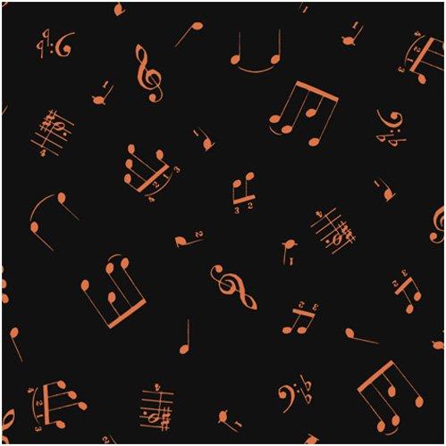 Allegro Copper All Over Notes, Copper on Black