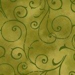 Autumn Abundance Green Swirls