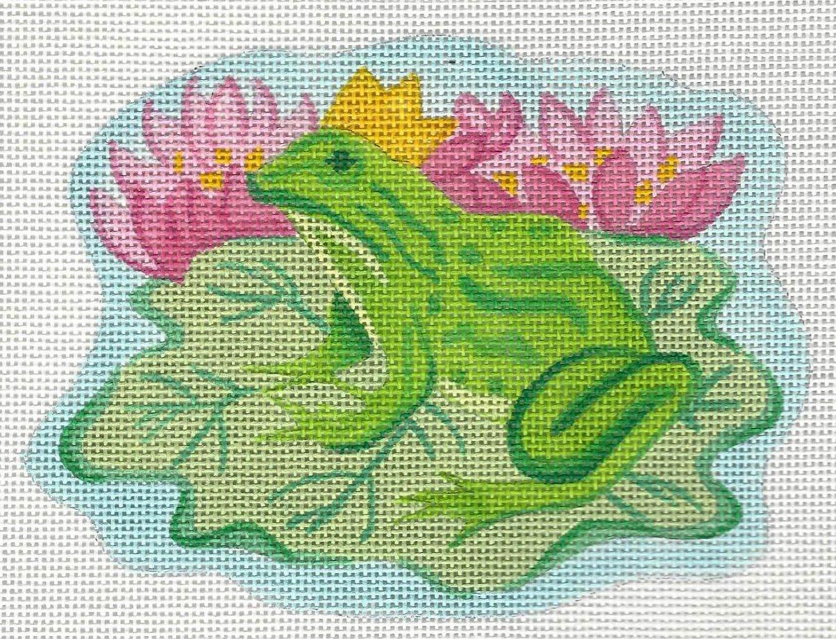Frog Prince on Lily Pad