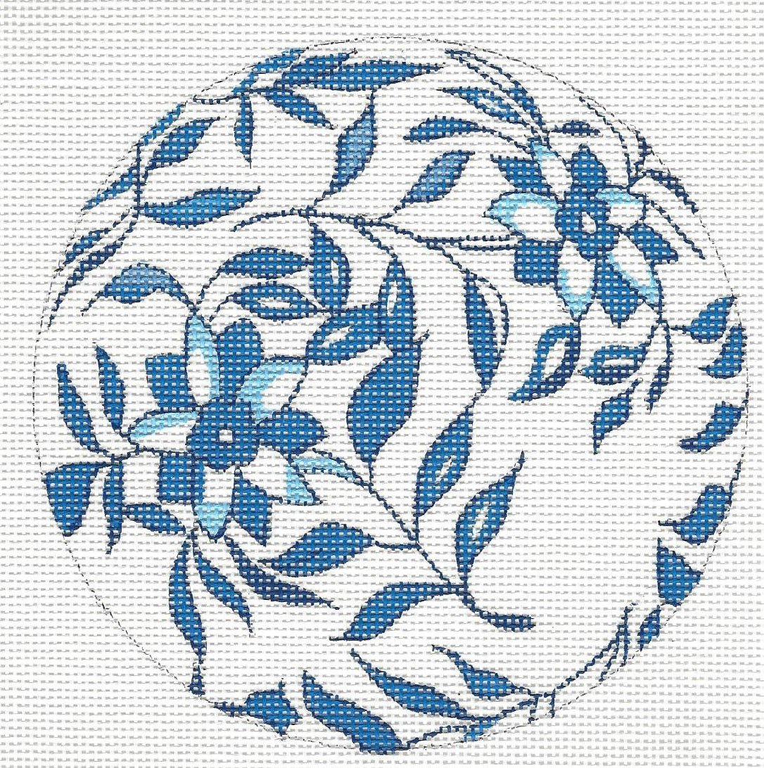 Blue & White Ball