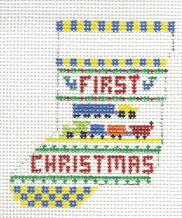 First Christmas Trains