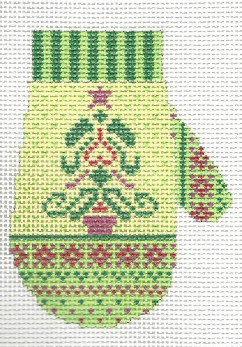 Nordic Mitten - Christmas Tree