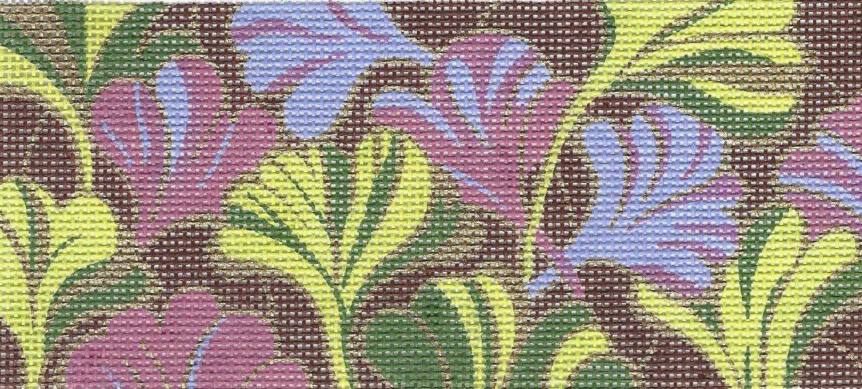 Rectangular Insert - Ginko Leaves
