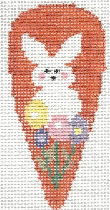 Carrot Peep Bunny