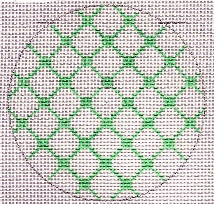 Round - Green Netting
