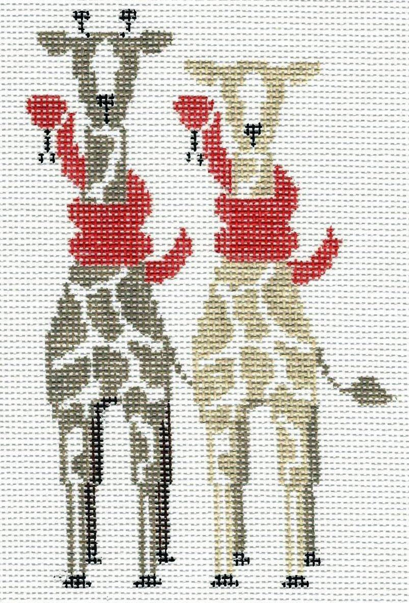 Noah's Ark - 2 Giraffs/2 Snakes