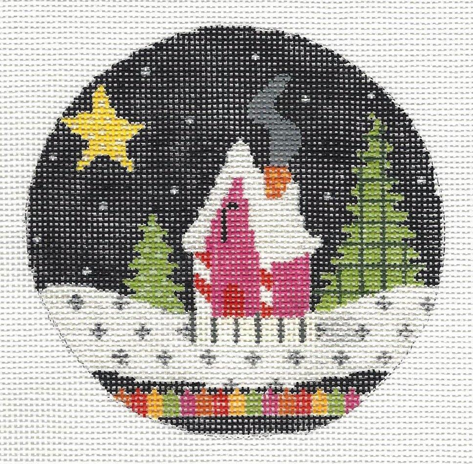 Snow Scene - Magenta House Kit